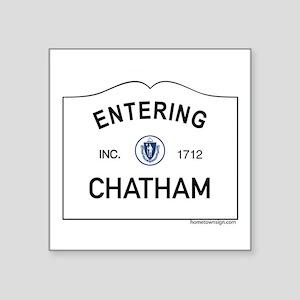 "Chatham Square Sticker 3"" x 3"""