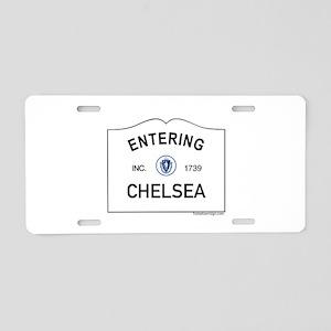 Chelsea Aluminum License Plate