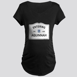 Aquinnah Maternity Dark T-Shirt