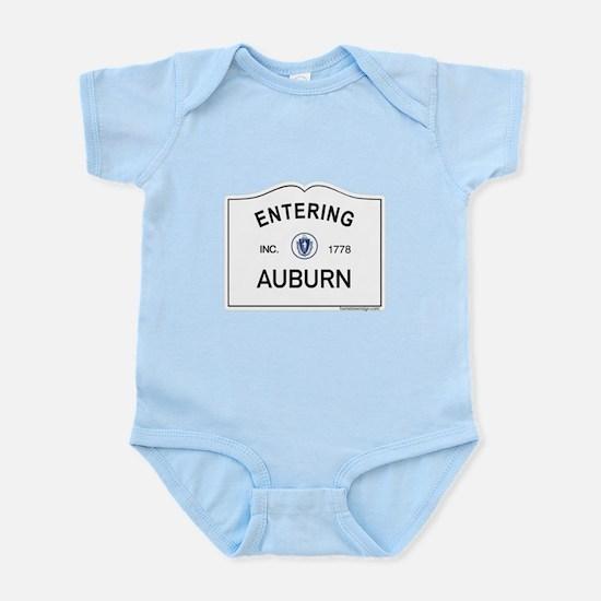Auburn Infant Bodysuit