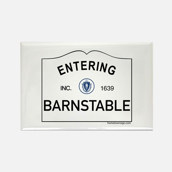 Barnstable Rectangle Magnet
