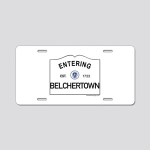 Belchertown Aluminum License Plate