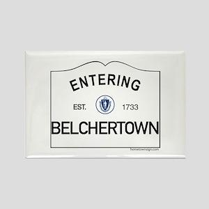 Belchertown Rectangle Magnet