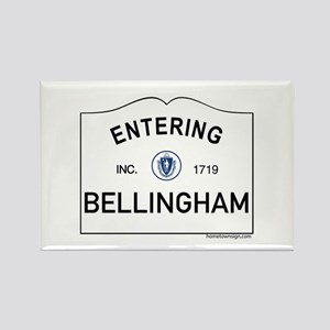 Bellingham Rectangle Magnet