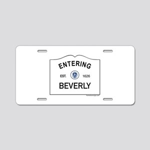 Beverly Aluminum License Plate