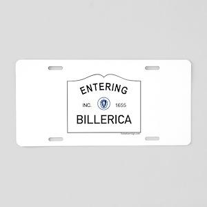 Billerica Aluminum License Plate
