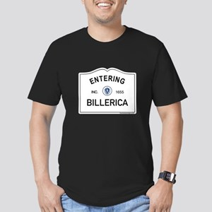 Billerica Men's Fitted T-Shirt (dark)
