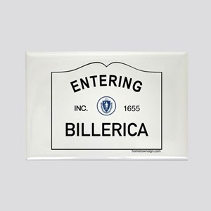 Billerica Rectangle Magnet