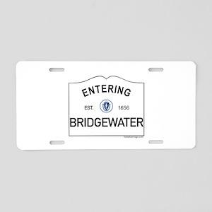 Bridgewater Aluminum License Plate