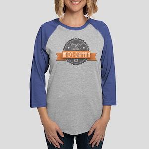 Certified Addict: Andy Griffi Womens Baseball Tee