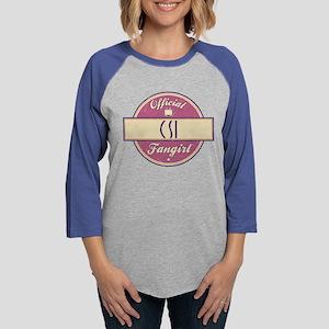 Official CSI Fangirl Womens Baseball Tee