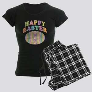Happy Easter Egg Women's Dark Pajamas