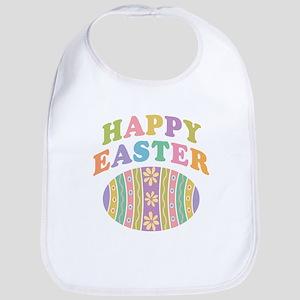 Happy Easter Egg Bib