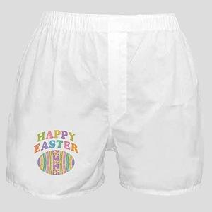 Happy Easter Egg Boxer Shorts