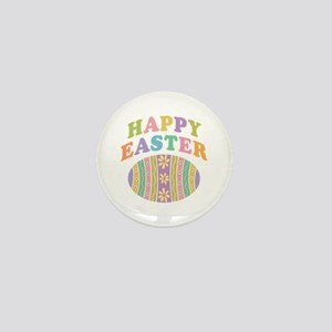 Happy Easter Egg Mini Button
