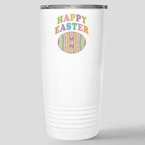 Happy Easter Egg Stainless Steel Travel Mug