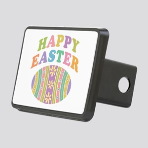 Happy Easter Egg Rectangular Hitch Cover