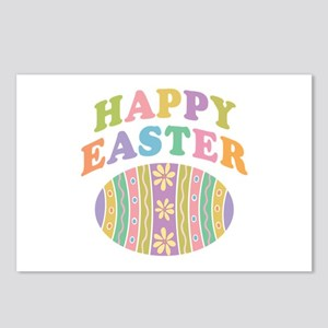 Happy Easter Egg Postcards (Package of 8)