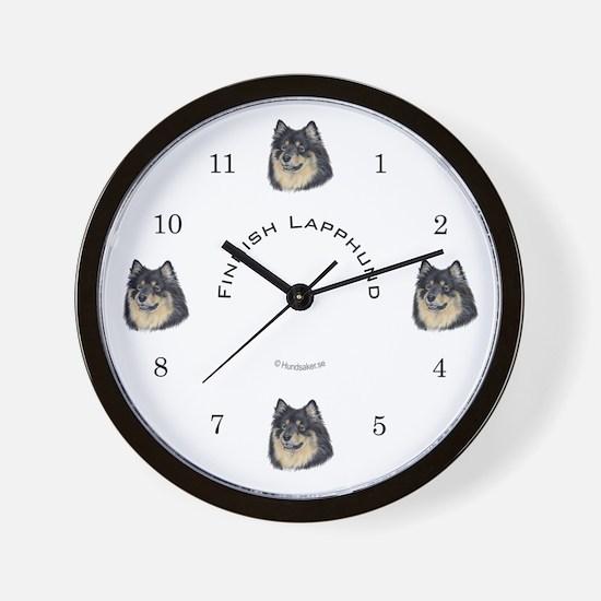 Finnish Lapphund Wall Clock