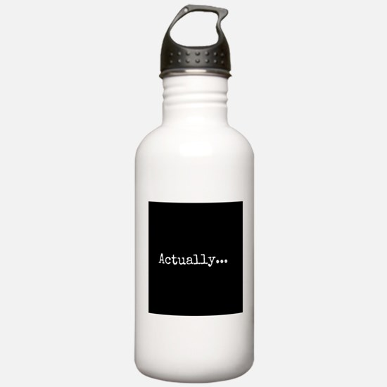 Know-It-All Water Bottle