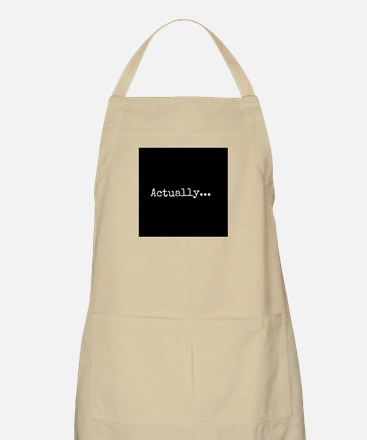 Know-It-All Apron