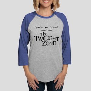 Into The Twilight Zone Womens Baseball Tee