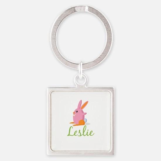Easter Bunny Leslie Keychains