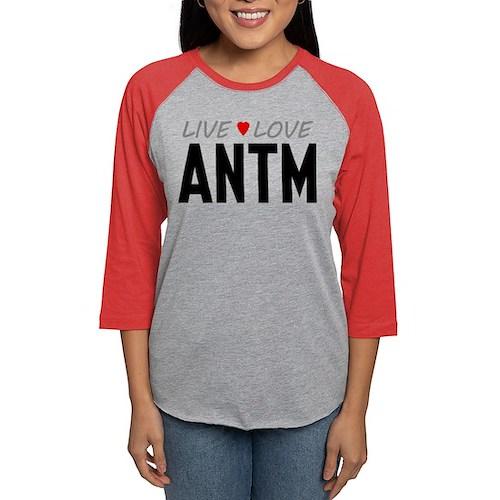 Live Love ANTM Womens Baseball Tee