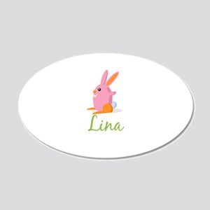 Easter Bunny Lina Wall Decal