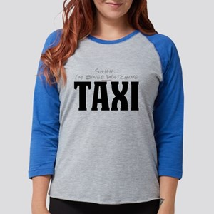 Shhh... I'm Binge Watching Ta Womens Baseball Tee