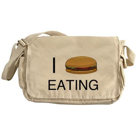 I Heart Eating Messenger Bag