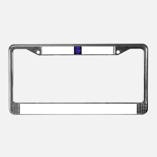 Be Kind - Plato License Plate Frame