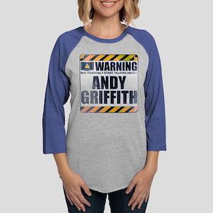 Warning: Andy Griffith Womens Baseball Tee