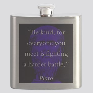 Be Kind - Plato Flask