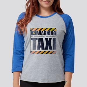 Warning: Taxi Womens Baseball Tee