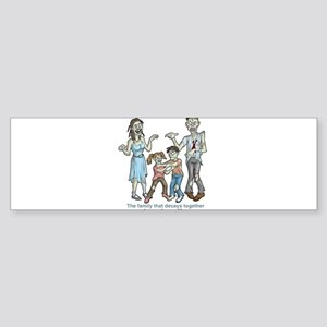 Zombies: Family Decay Bumper Sticker