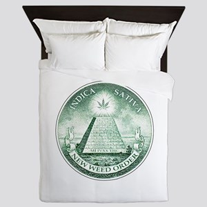 New Weed Order by mouseman Queen Duvet