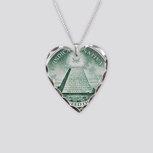 New Weed Order by mouseman Necklace Heart Charm