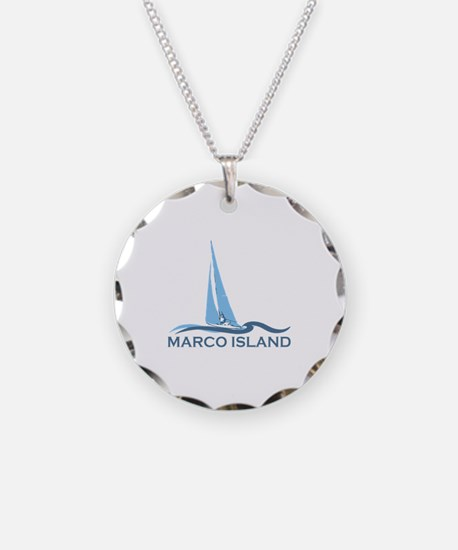 Marco Island - Sailing Design. Necklace