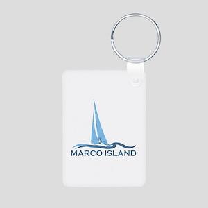 Marco Island - Sailing Design. Aluminum Photo Keyc