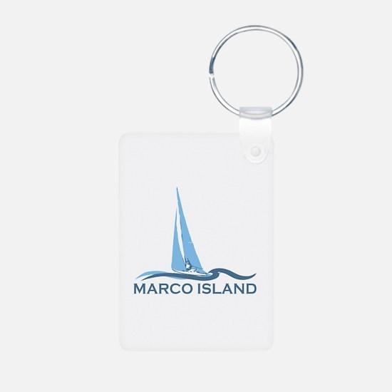 Marco Island - Sailing Design. Keychains