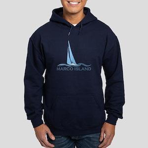 Marco Island - Sailing Design. Hoodie (dark)