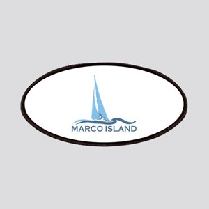Marco Island - Sailing Design. Patches