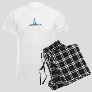 Marco Island - Sailing Design. Men's Light Pajamas