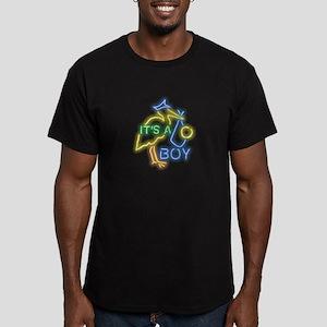 Boy Men's Fitted T-Shirt (dark)