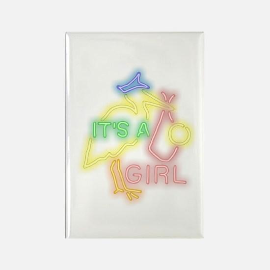 Girl Rectangle Magnet