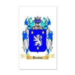 Baudon 20x12 Wall Decal