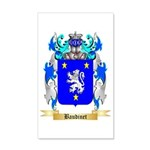 Baudinet 35x21 Wall Decal