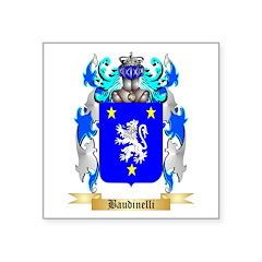 Baudinelli Square Sticker 3