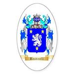 Baudinelli Sticker (Oval 50 pk)